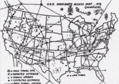 MAPS Underground Tunnels Unexplained Booms And Mysterious Hums